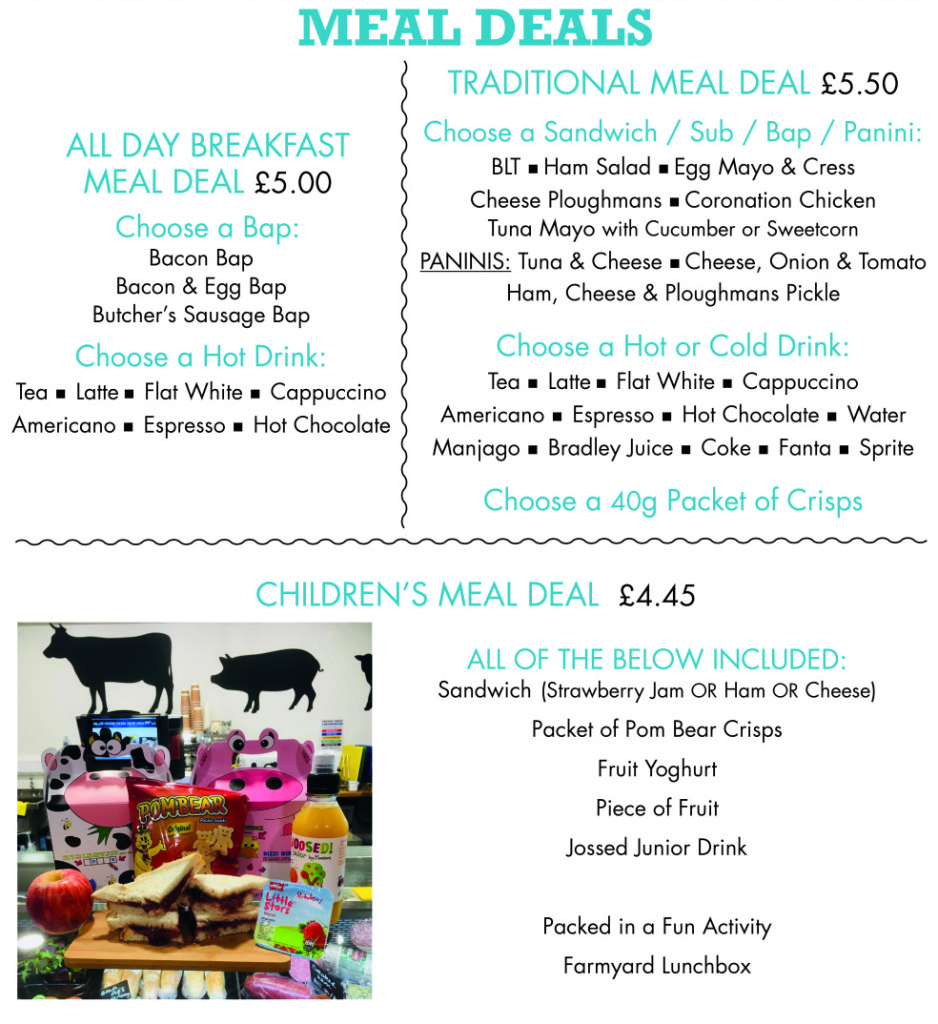 New Deli Menu - Meal Deals v2