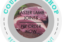 Badge - Easter Lamb