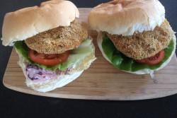 New Orleans Chicken Burger